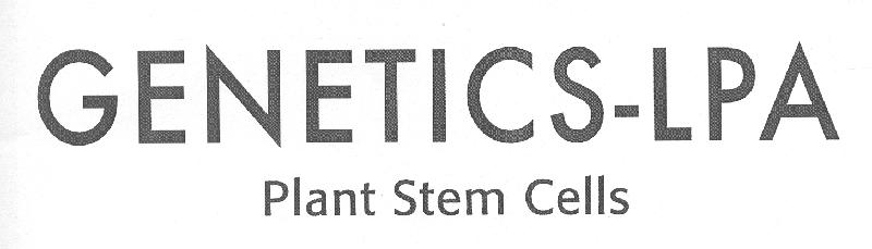GENETICS-LPA Plant Stem Cells