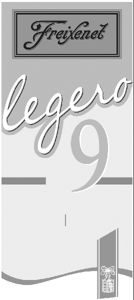 FREIXENET LEGERO 9