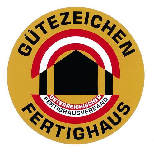 Gütezeichen Fertighaus Österreichischer Fertighausverband