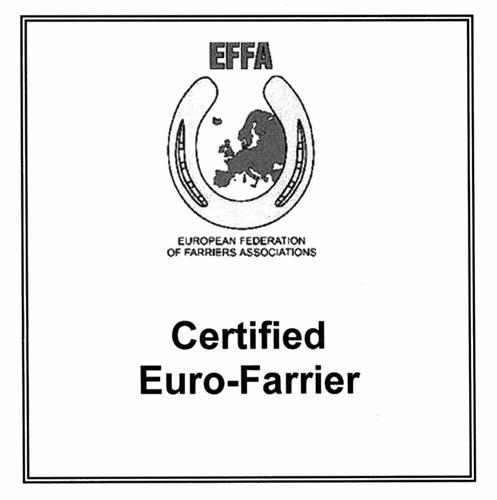 EUROPEAN FEDERATION OF FARRIERS ASSOCIATIONS EFFA Certified Euro-Farrier
