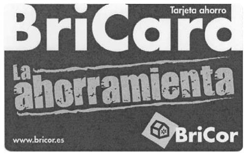 BriCard-Tarjeta Ahorro-La ahorramienta-Bricor