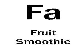 FA Fruit Smoothie