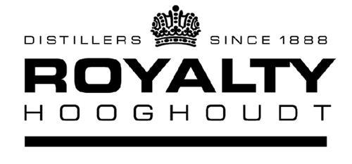 DISTILLERS SINCE 1888 ROYALTY HOOGHOUDT