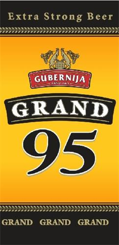Extra strong beer, Gubernija Anno 1665, Grand 95