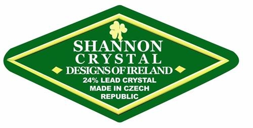 Shannon Crystal Designs Of Ireland 24 Lead Crystal Made In Czech