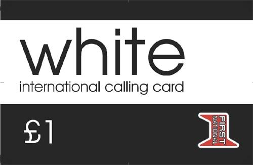 white international calling card first national 1 - Where To Buy International Calling Cards