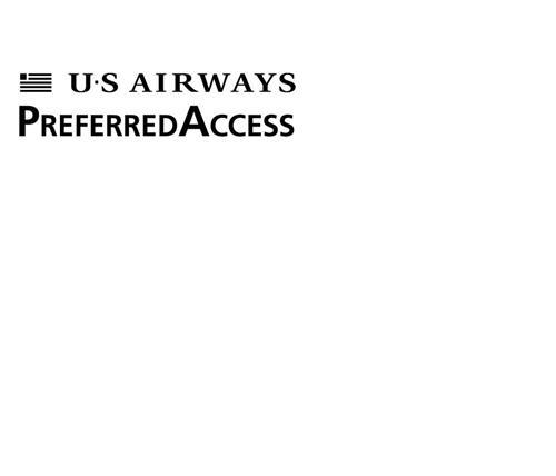 US AIRWAYS PREFERRED ACCESS