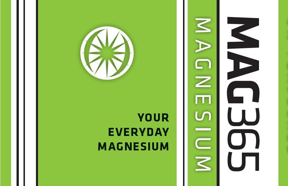 Mag365 Magnesium - Your Everyday Magnesium