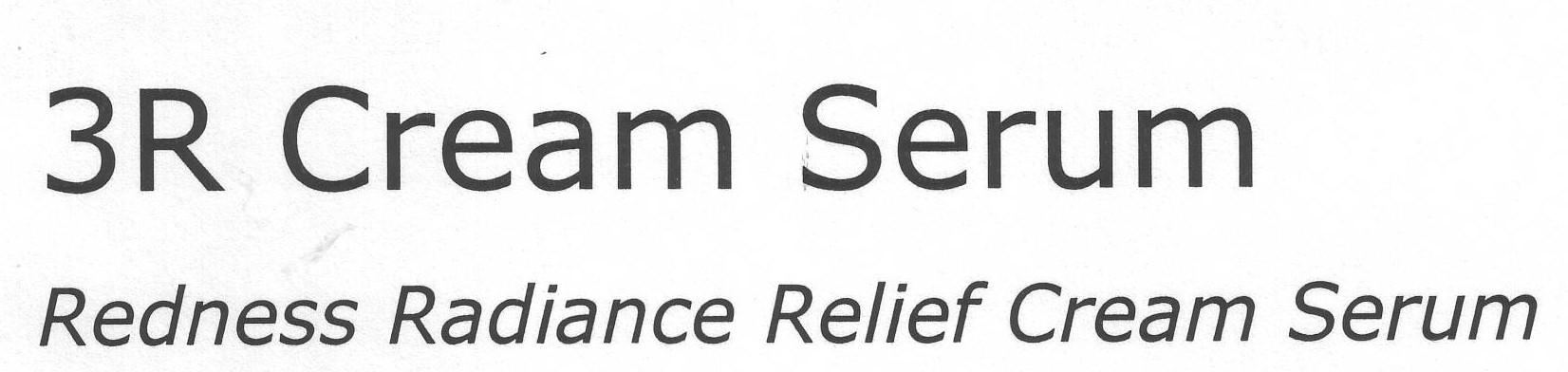 3R Cream Serum Redness Radiance Relief Cream Serum