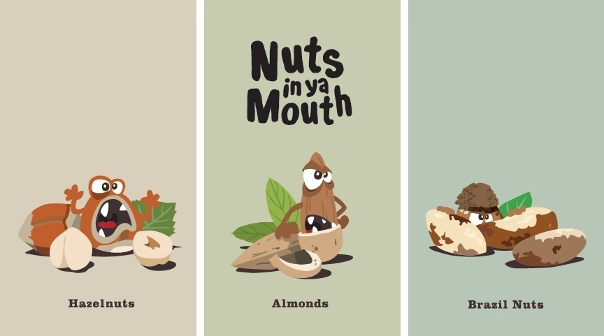 NUTS IN YA MOUTH