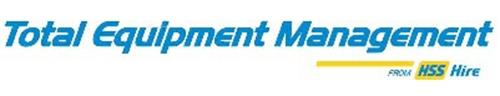 Total Equipment Management from HSS Hire
