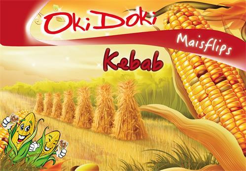 OkiDoki Maisflips Kebab
