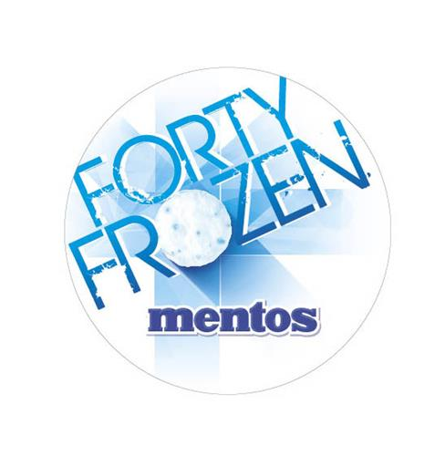FORTY FROZEN MENTOS