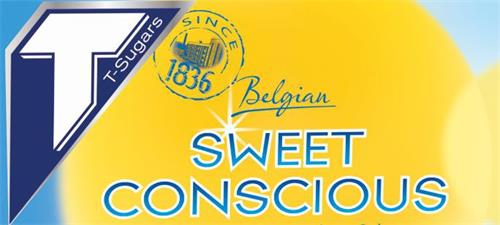 T T-Sugars SINCE 1836 Belgian SWEET CONSCIOUS
