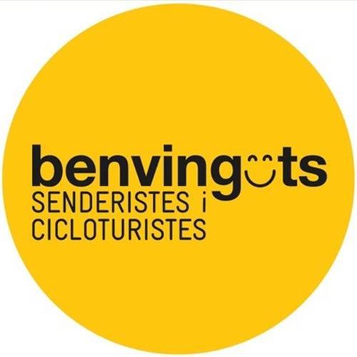 BENVINGUTS SENDERISTES I CICLOTURISTES
