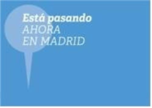 Está pasando AHORA EN MADRID