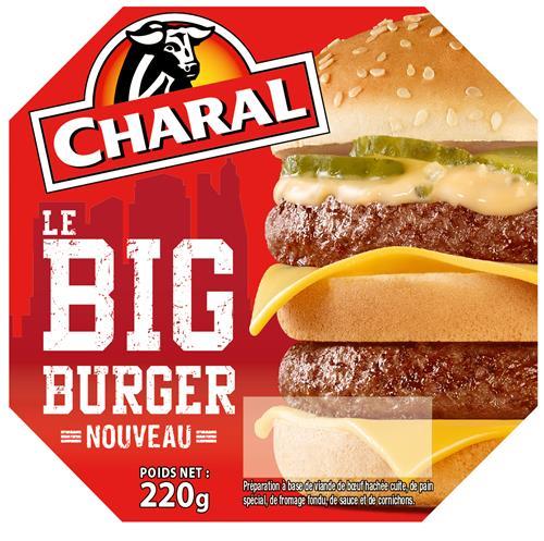 Charal Le Big Burger Nouveau