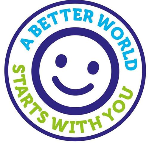 A BETTER WORLD STARTS WITH YOU