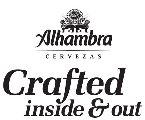 ALHAMBRA CERVEZAS CRAFTED INSIDE & OUT