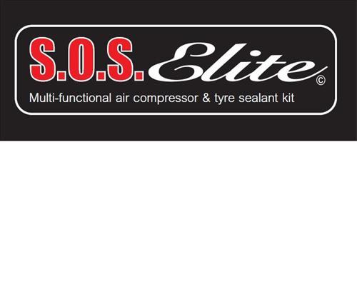 S.O.S.Elite Multi-functional air compressor & tyre sealant kit