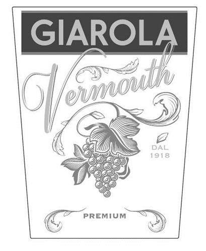 GIAROLA VERMOUTH PREMIUM DAL 1918