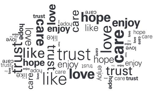 hope enjoy trust care like love