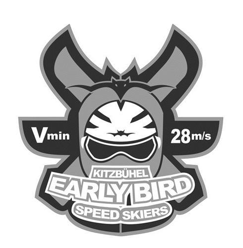 Vmin 28m/s KITZBÜHEL EARLY BIRD SPEED SKIERS