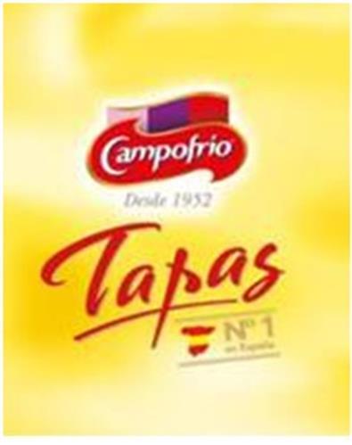 Campofrío Desde 1952 Tapas Nº1 en España