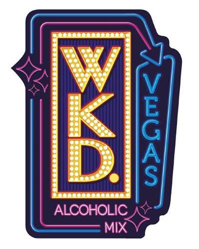 WKD. VEGAS ALCOHOLIC MIX
