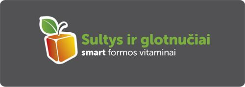 Sultys ir glotnučiai smart formos vitaminai