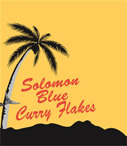 Solomon Blue Curry Flakes
