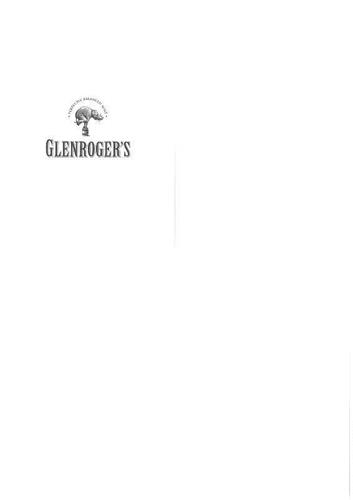 Perfectly balanced malt - GLENROGER'S