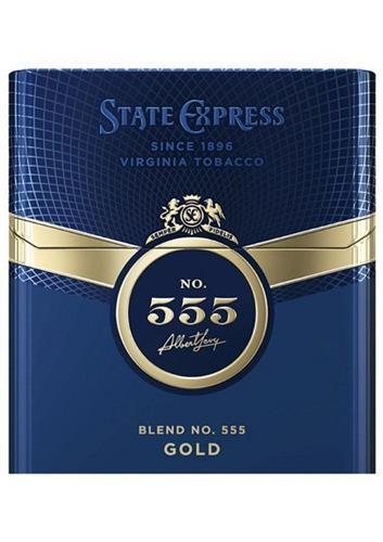 STATE EXPRESS SINCE 1896 VIRGINIA TOBACCO SE SEMPER FIDELIS NO. 555 Albert Levy BLEND NO.555 GOLD