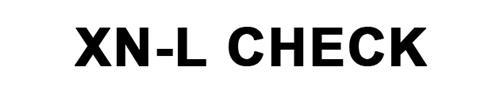 XN-L CHECK