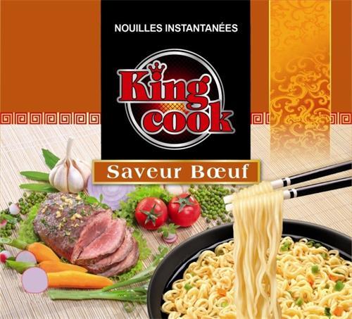 NOUILLES INSTANTANÉES King cook Saveur bœuf