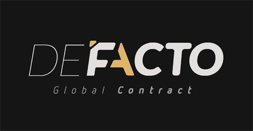 DEFACTO GLOBAL CONTRACT