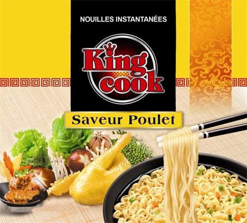 NOUILLES INSTANTANÉES King cook Saveur Poulet