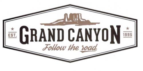 GRAND CANYON FOLLOW THE ROAD EST 1995