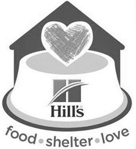 HILL'S FOOD SHELTER LOVE