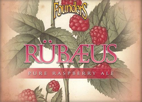 FounderS RÜBAEUS PURE RASPBERRY ALE