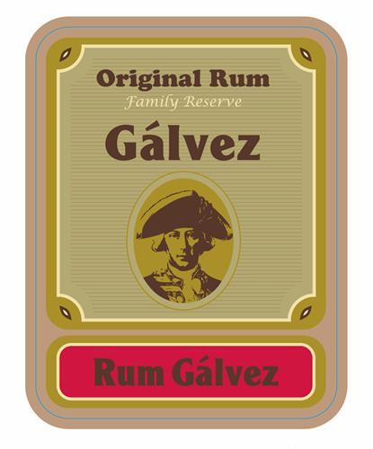 ORIGINAL RUM FAMILY RESERVE GALVEZ RUM GALVEZ