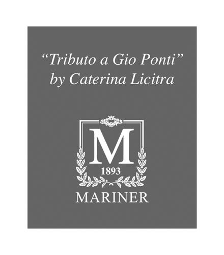 TRIBUTO A GIO PONTI BY CATERINA LICITRA M 1893 MARINER