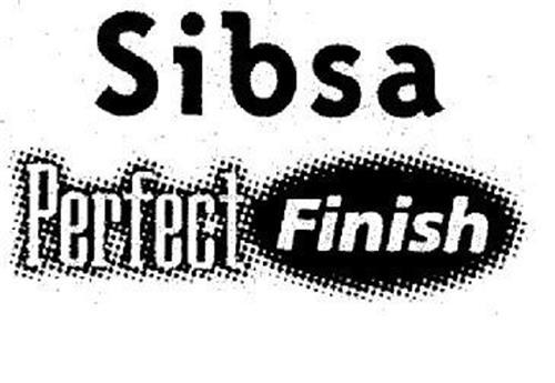 SIBSA PERFECT FINISH