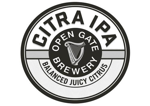 CITRA IPA OPEN GATE BREWERY BALANCED JUICY CITRUS