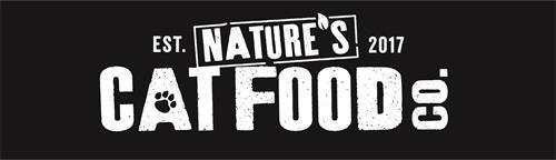 EST. 2017 NATURE'S CAT FOOD CO.