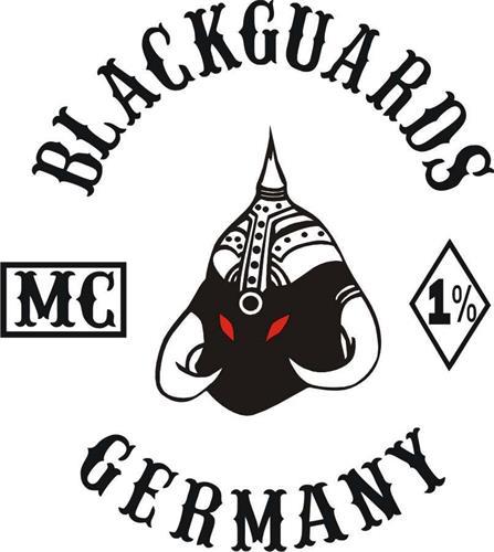 BLACKGUARDS MC 1% GERMANY