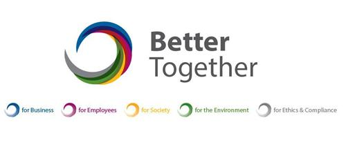 BETTER TOGETHER for BUSINESS for EMPLOYEES for SOCIETY for the ENVIRONMENT for ETHICS & COMPLIANCE