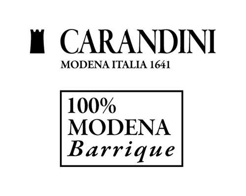 CARANDINI MODENA ITALIA 1641 100% MODENA BARRIQUE