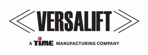 VERSALIFT A TIME MANUFACTURING COMPANY