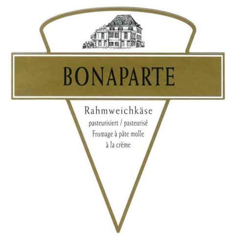 BONAPARTE Rahmweichkäse pasteurisiert/pasteurisé Fromage à pâte molle à la crème